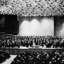 Beethovenhalle am 9. Oktober 1965