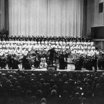 Großer Sendesaal des Senders Freies Berlin - 11. Dezember 1960