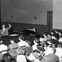 Kammermusiksaal Kreuzberg, Juli 1957