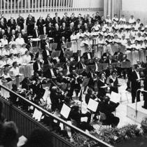 Konzertsaal der Hochschule für Musik Berlin 1954