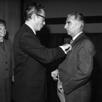 Verleihung des Bundesverdienstkreuzes