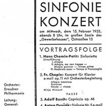 Konzert-Programm