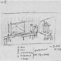 Bühnenbild-Entwurf