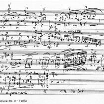 Solokadenz des Violinkonzertes