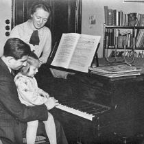 Hans und Helene Chemin-Petit mit Tochter Jeannette